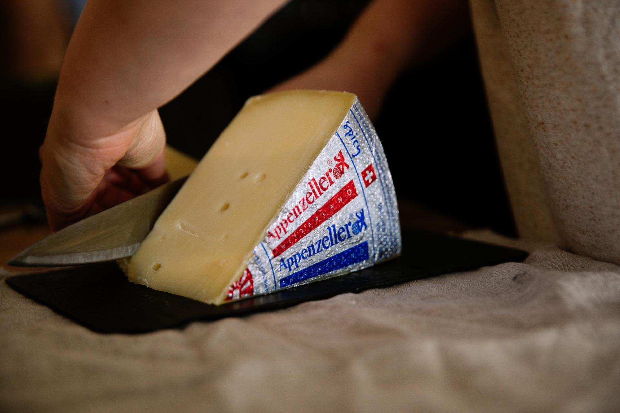 Appenzeller Cheese Made In Switzerland Emmi Usa