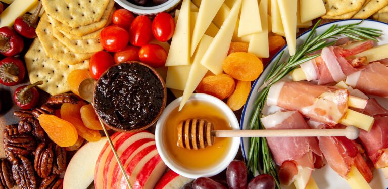 Easy No-Cook Dinner Solution: A Cheese Board!