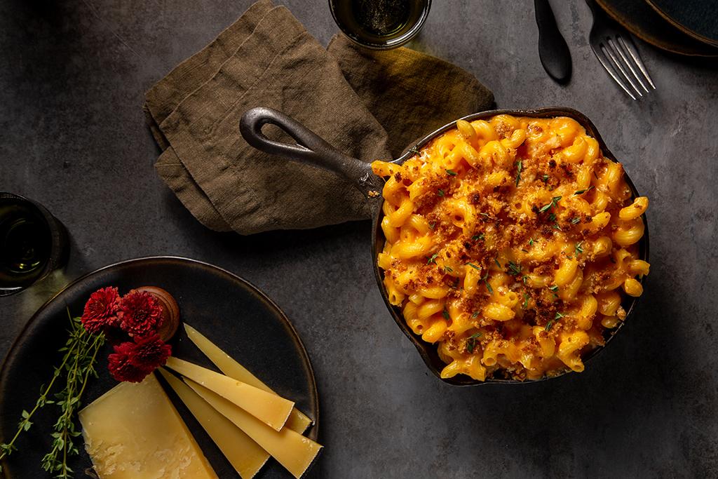 Sweet Potato Gouda Mac and Cheese