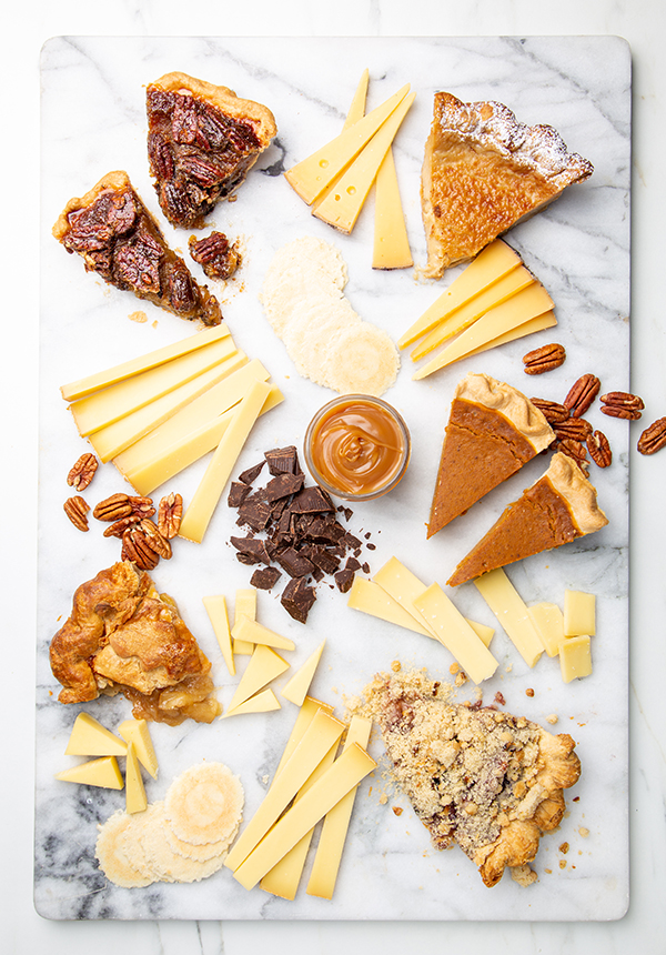 Emmi cheese and pie pairings for Thanksgiving